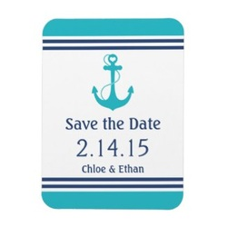 save the date magnet anchor